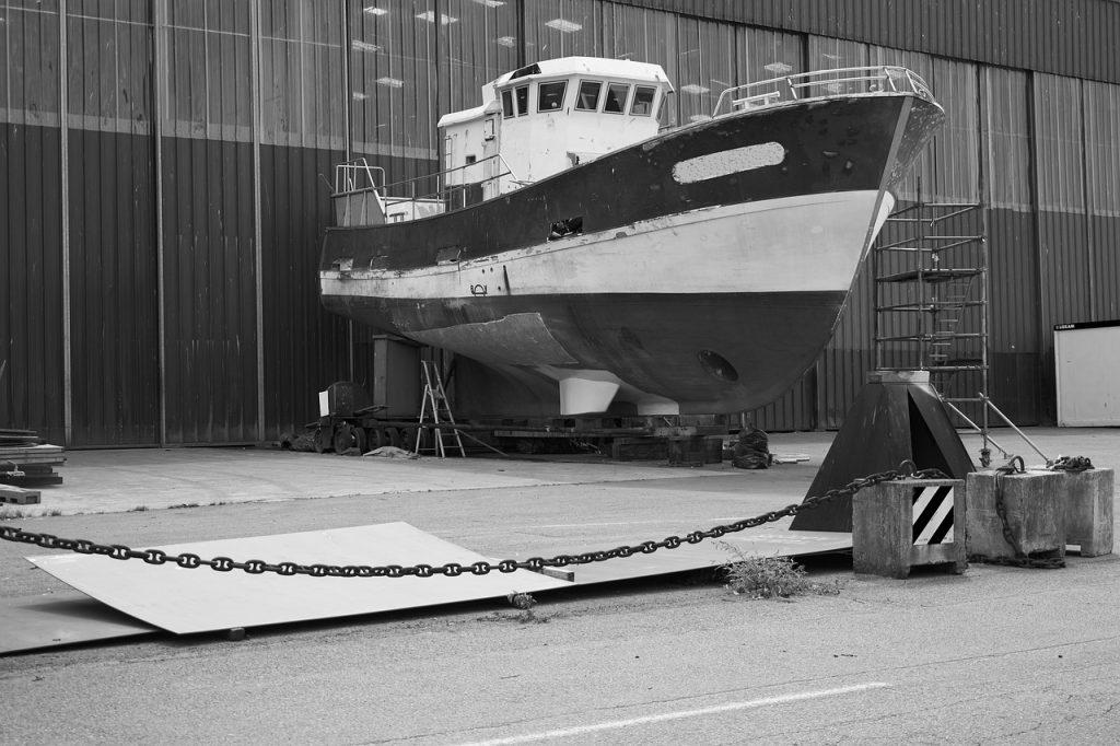 bateau caréné