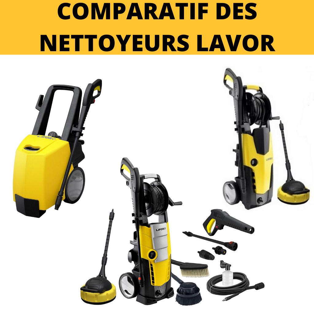 COMPARATIF DES NETTOYEURS LAVOR