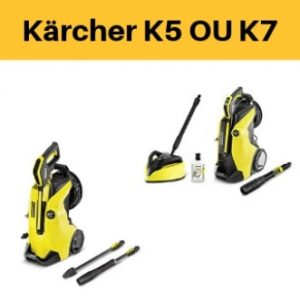 karcher k5 ou k7